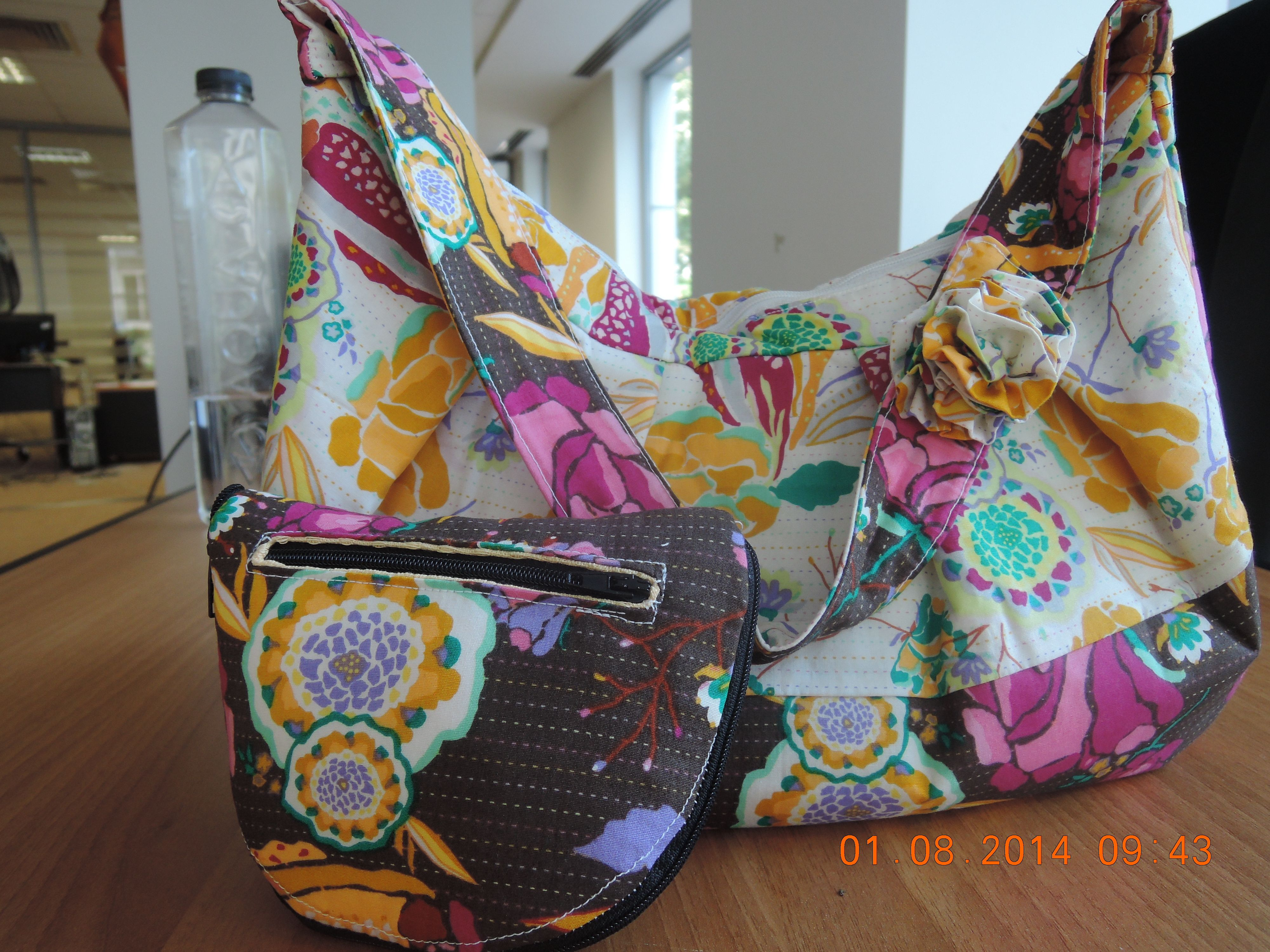 tote (McCalls 6045) with matching wallet-to-tote | Craft: my ...
