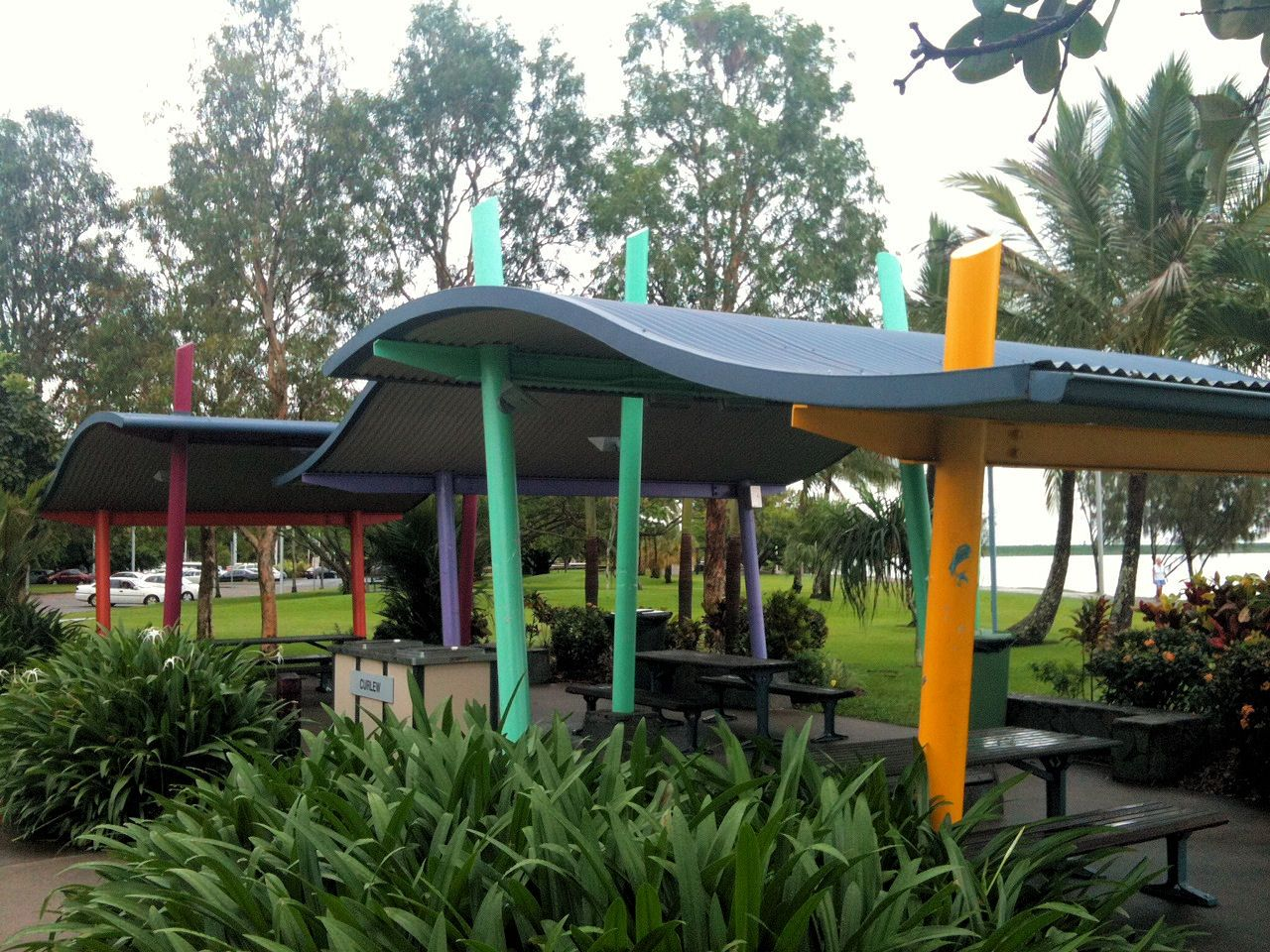Creative And Inspired Designs Can Be Achieved With Ritek Roof Panels Roofing Systems Picnic Area Roof Panels