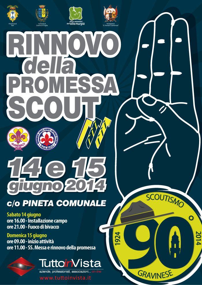 Rinnovo promessa scout
