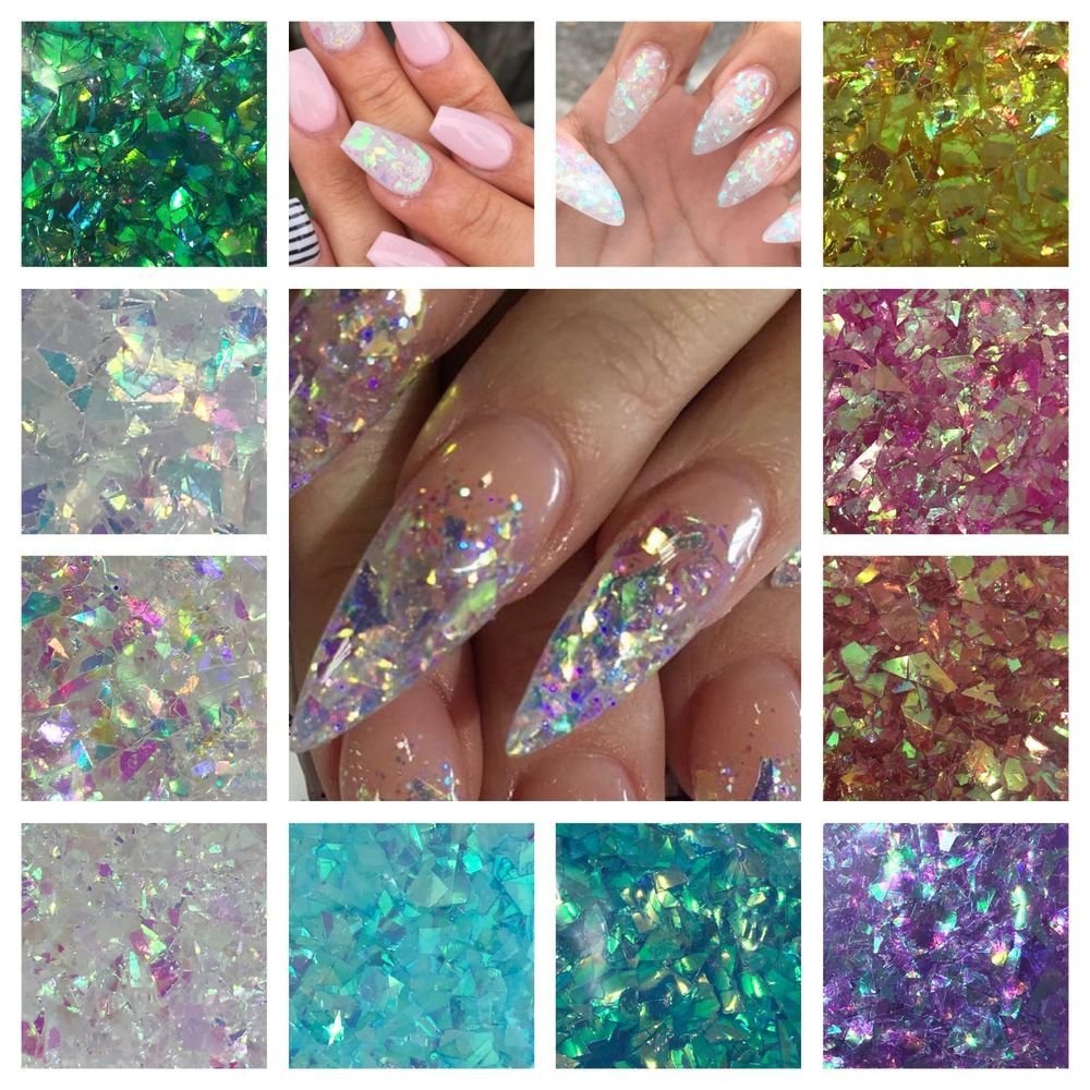 Details About Unicorn Flakes Cosmic Mylar Glitter Mix