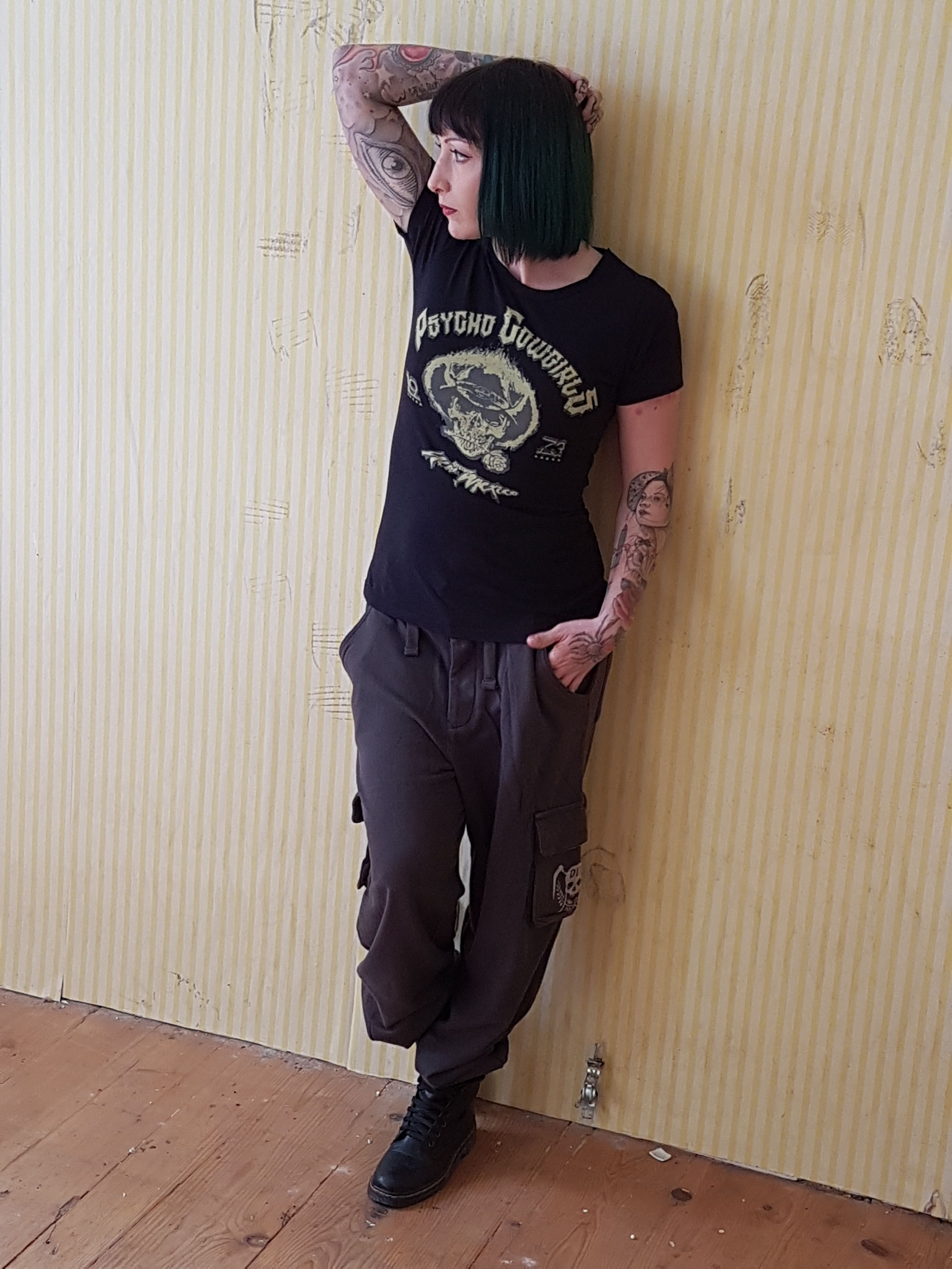 """DYSTROY Girls """"HELLCATS"""" Collection!  From S - XL  Model: Mareike Grunwald"""