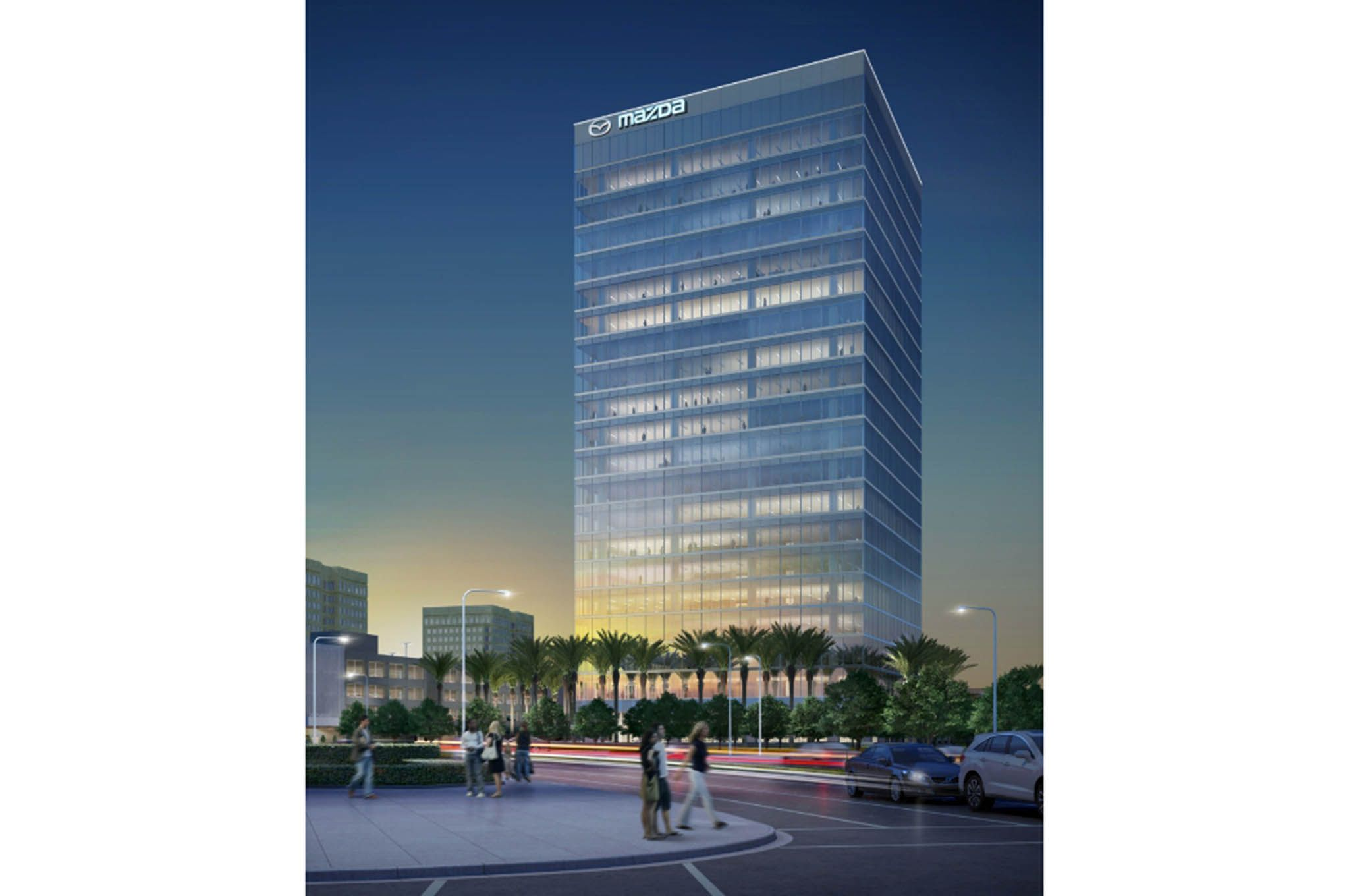 Mazda To Relocate To New California Headquarters In 2017 Relocation Irvine Spectrum Irvine