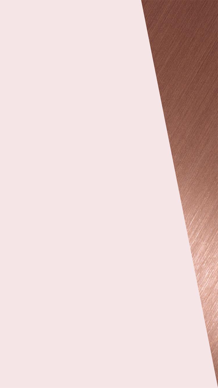 Rose Gold Copper IPhone Wallpaper