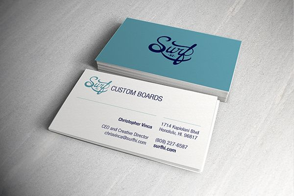 Surf hi business cards christopher vinca design pinterest surf hi business cards christopher vinca reheart Gallery