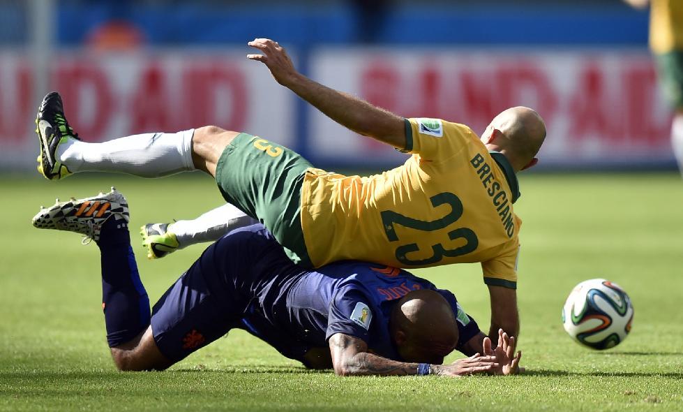 World Cup group stage Australia vs. Netherlands World