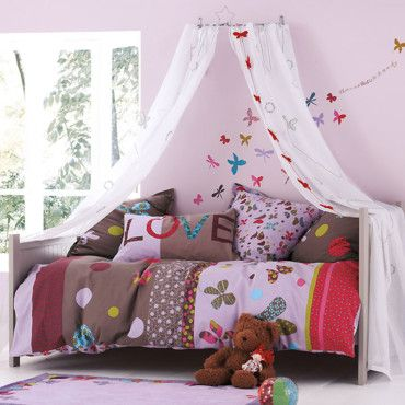 Chambre fille avec papillon chambre pinterest kids rooms and kids s for Chambre fille fashion