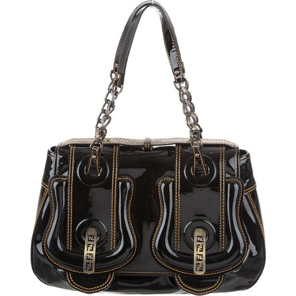 Fendi Pre-owned - Patent leather handbag