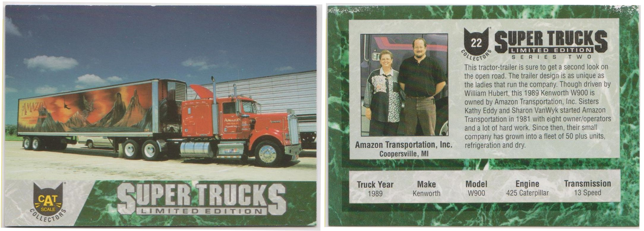 Series 2 Card 22 1989 Kenworth W900 (With images