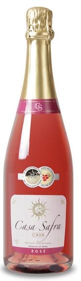 Wijnvoordeel € 6,99 per fles, afname per 6 flessen - Casa Safra Cava Brut Rosado, Geen 18, geen alcohol  http://www.ovstore.nl/nl/wijnvoordeel-699-per-fles-casa-safra-cava-brut-ros.html