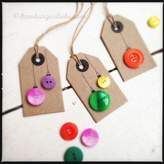 34 Festive and Fun DIY Christmas Gift Tags! | Homemade Christmas ...
