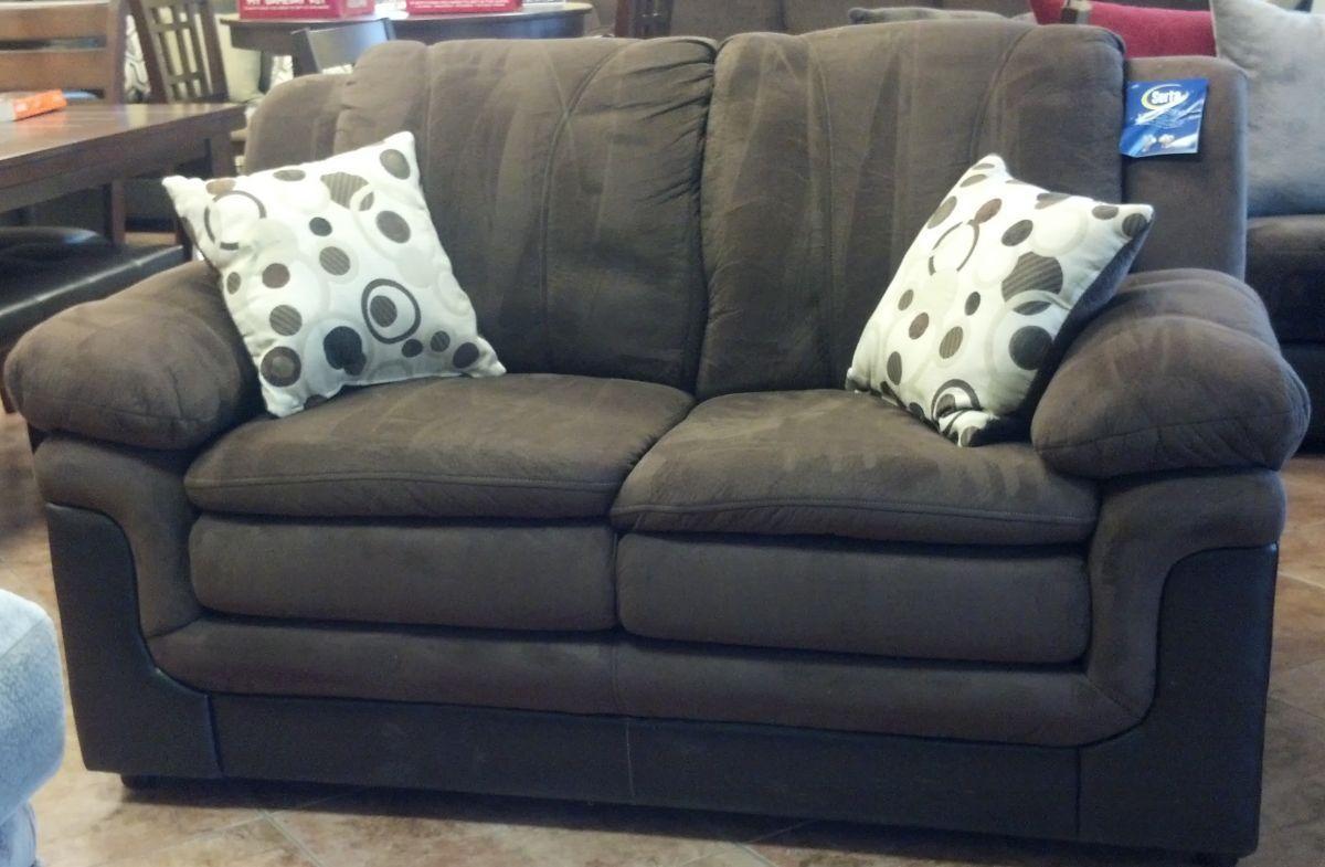 Stupendous New San Marino Padded Walnut Sofa And Loveseat Set Serta Machost Co Dining Chair Design Ideas Machostcouk