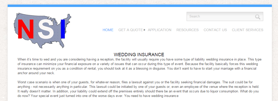 If You Purchased Wedding Insurance Can Turn The Whole Thing Over To