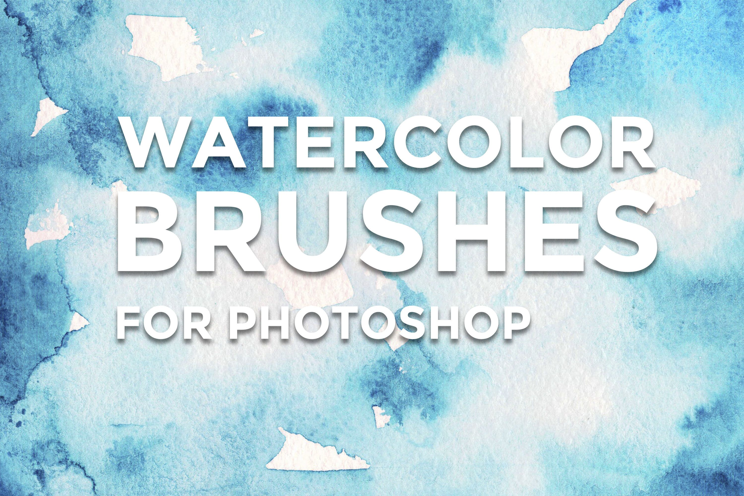 Watercolor Brushes Photoshop Brushes Watercolor Photoshop