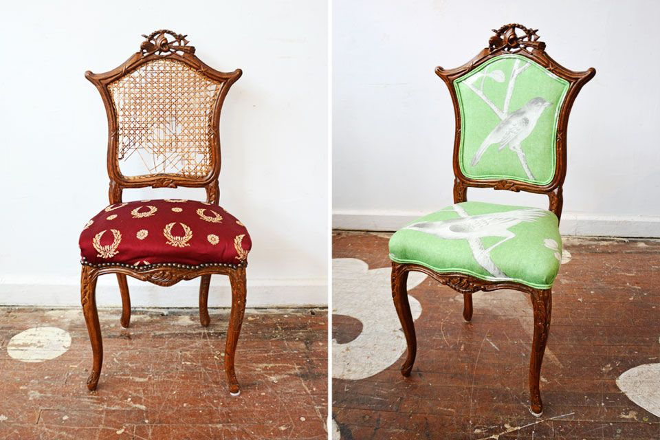 Marvelous Popular Of Antique Accent Chair Before Amp After Accent Chairs Chairloom