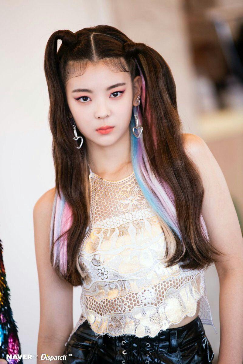 Itzy Not Shy Promotion Photoshoot Lia Wanita Selebritas Gadis Korea