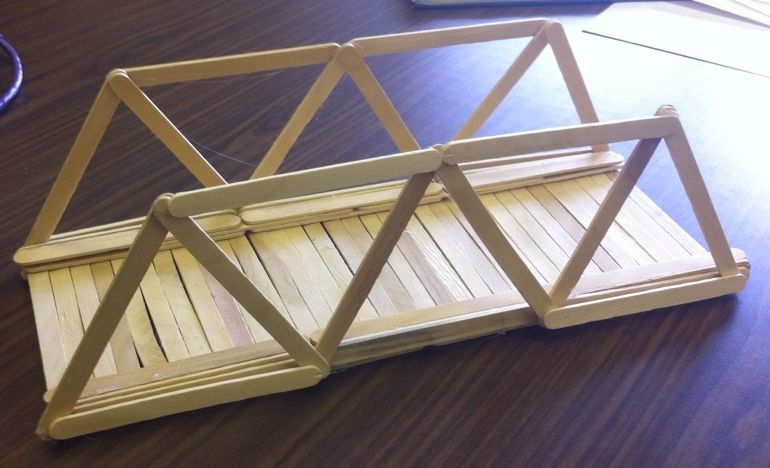 Strong Popsicle Stick Bridge Designs The Best 2017