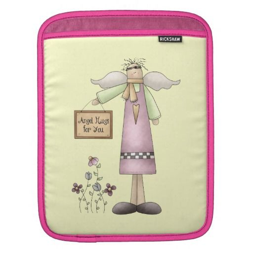 Prim Angel Hugs iPad sleeve