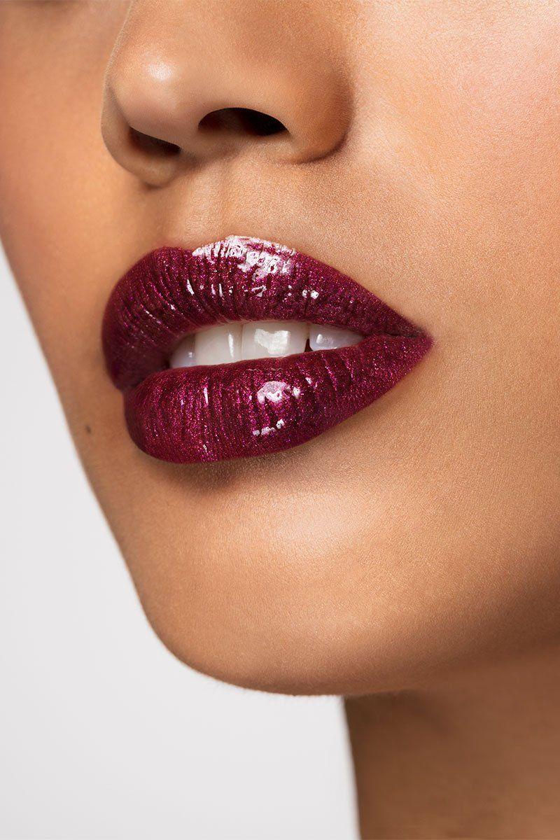Believe Me Burgundy Lipstick Lipstick Glossy Lips