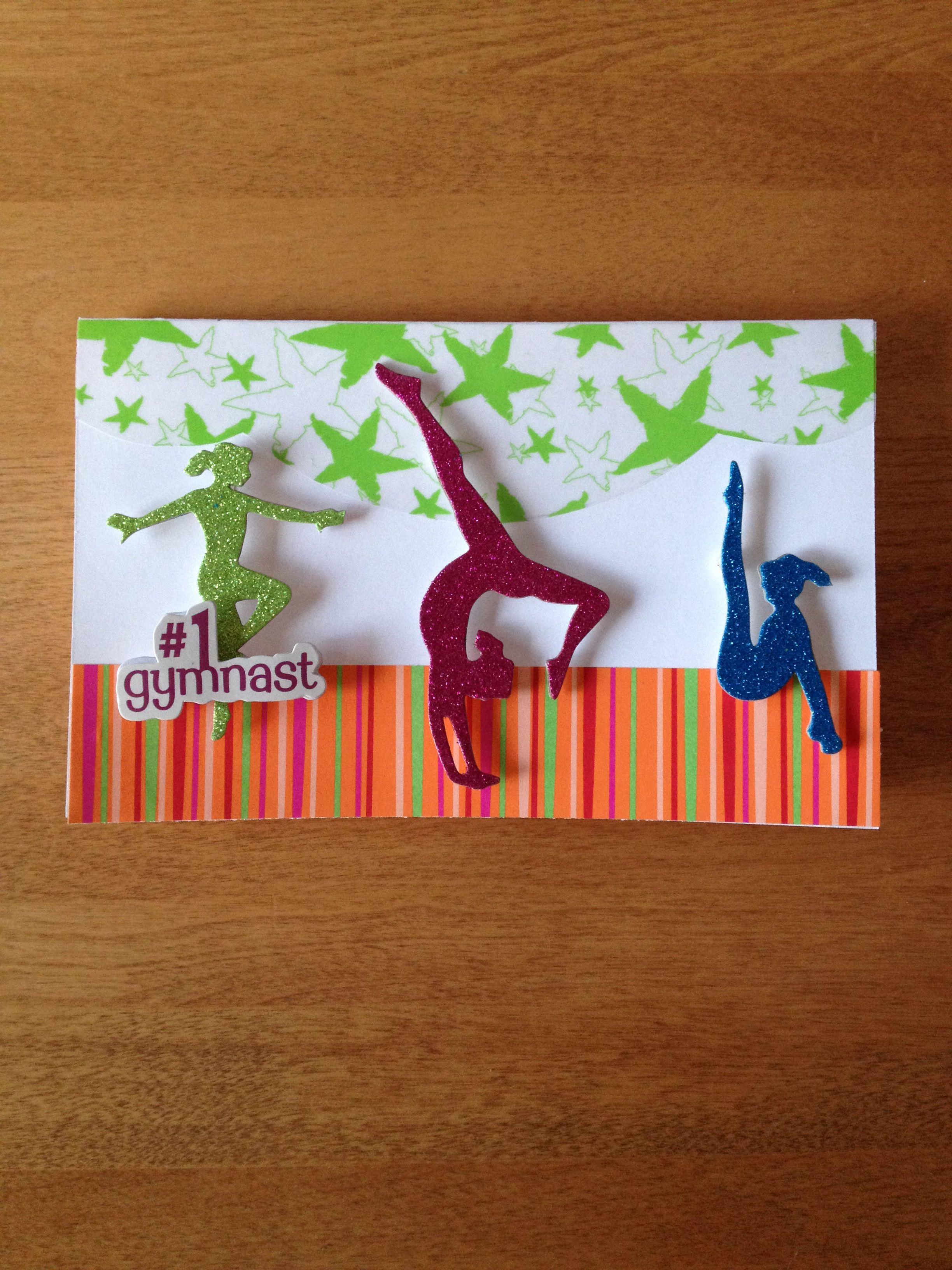 Good luck gymnast card   Kids birthday cards, Birthday cards ...