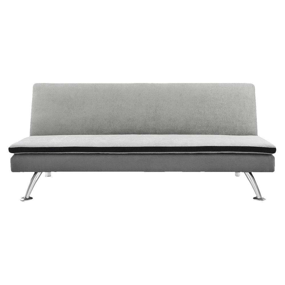 Maddox pillowtop sleeper sofa ameriwood home weathered oak products