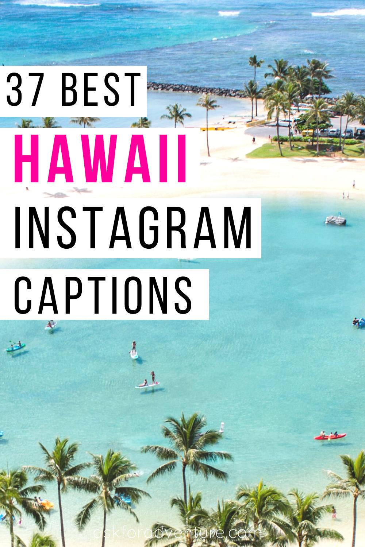 37 Hawaii Instagram Captions for your Hawaiian Vacation ...