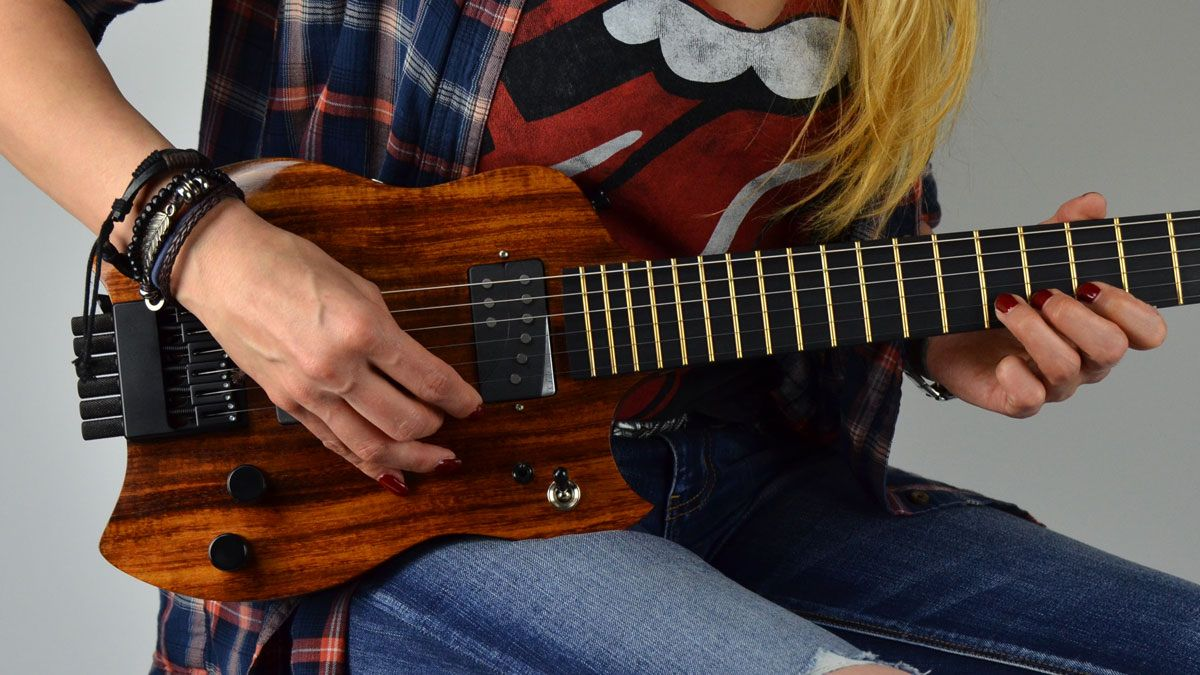 Handmade And High Tech These Guitars From Charleston Guitars Are All About The Details The Innovative Design Creates Incre Guitar Electric Guitar Charleston