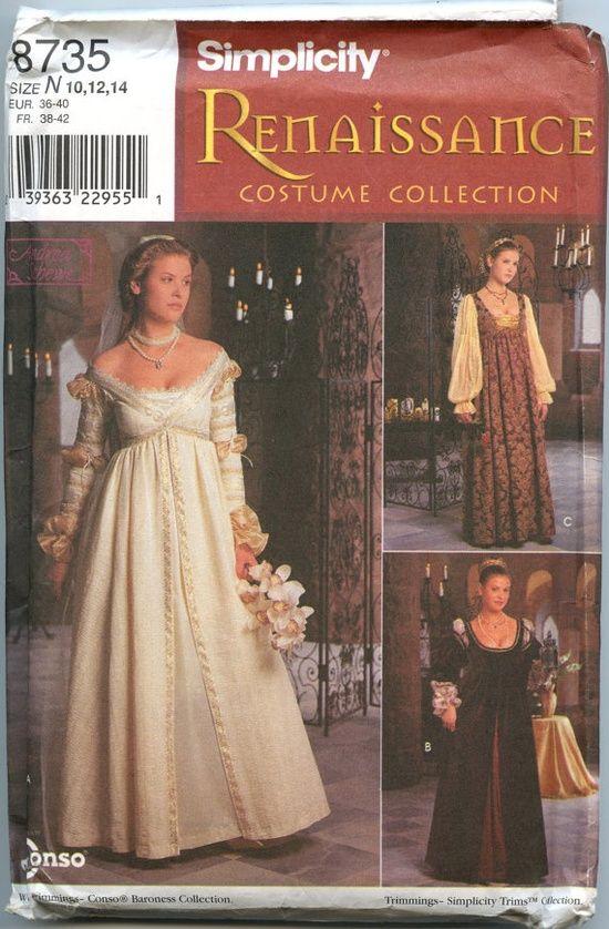 Renaissance italian dress patterns