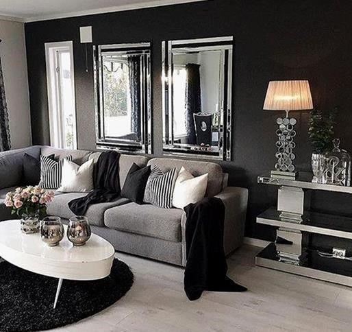 Gourgeus Gray furniture for an elegant, monochrome decor in modern