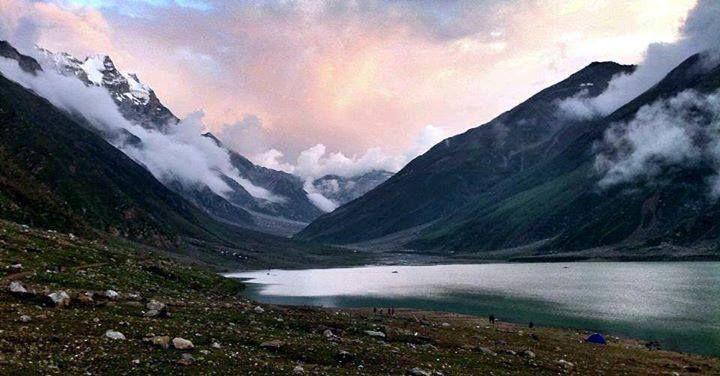 Beautiful view of Lake Saif-ul-Muluk