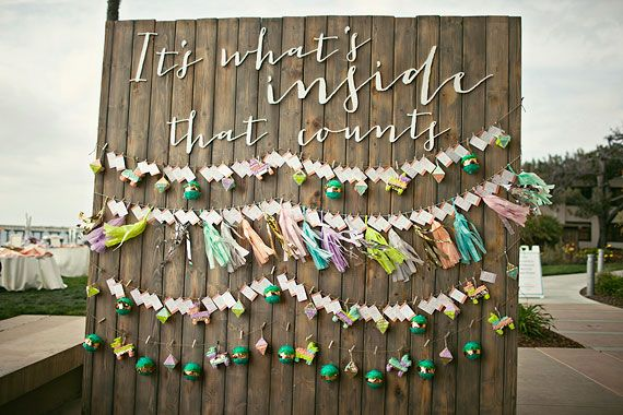 Adorable! - Mexican inspired beach wedding | photo by Amelia Lyon Photography | 100 Layer Cake