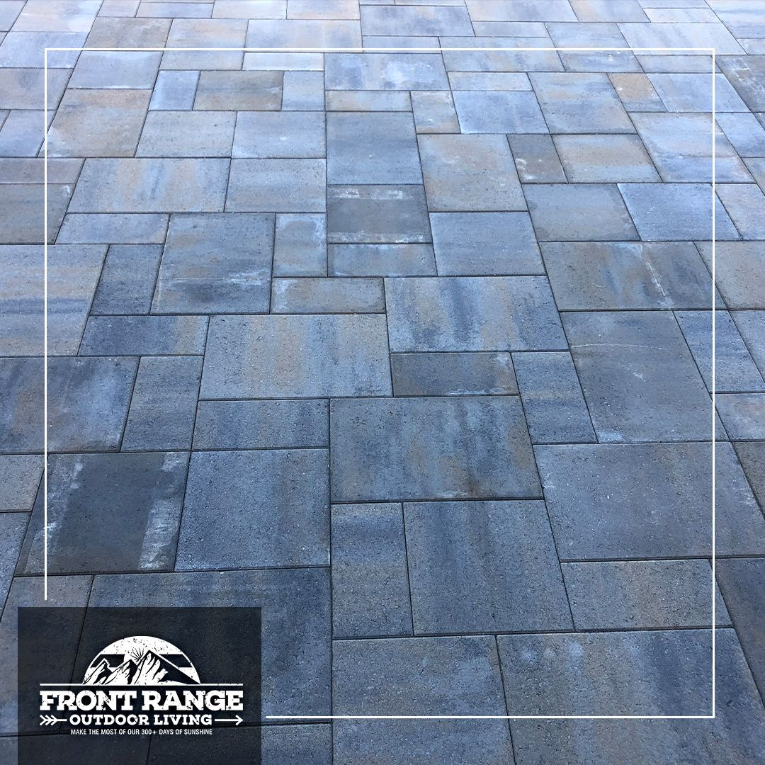 Paver Patio in 2020 | Paver patio, Outdoor living, Front range on Front Range Outdoor Living id=44151