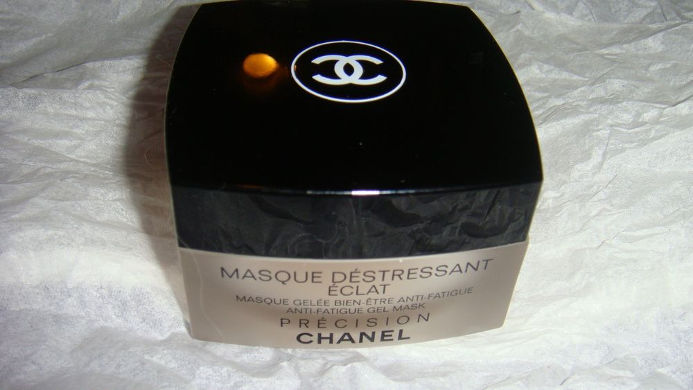 Chanel Precision Masque Destressant Eclat Anti-Fatigue Gel Mask 1.7oz   Brand New a86e5e3ff61e