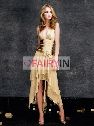 A-line/Princess Sleeveless Chiffon Halter Dresses