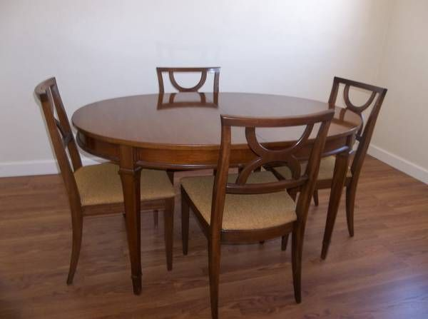 18++ Drexel dining table and chairs Best Choice
