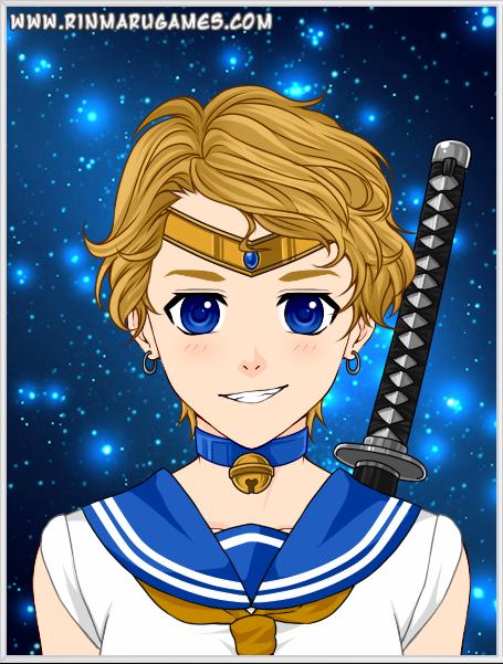 Mega Anime Sailor Uranus By Autumnrose83 On Deviantart Rinmarugames Sailor Uranus Sailor Sailor Neptune