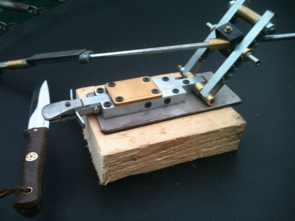 3de38a691 My Bevel Filing Jig. - Page | --Knife-Making-- | Knife grinding jig ...