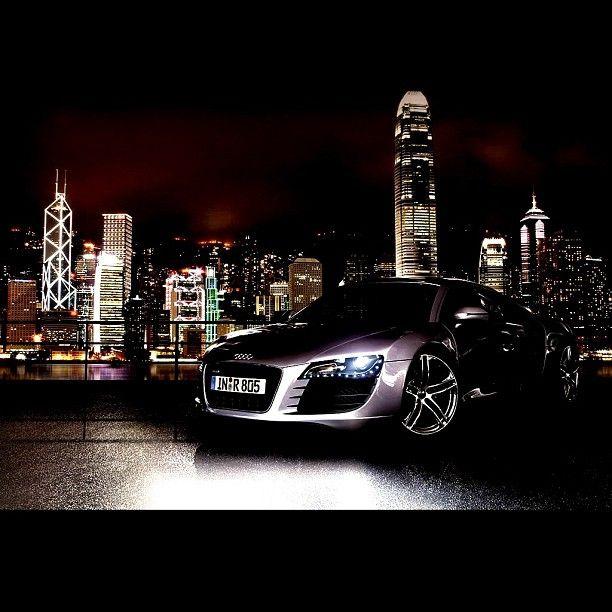 Audi R8 City Lights Audi R8 Wallpaper Audi Cars Car Hd