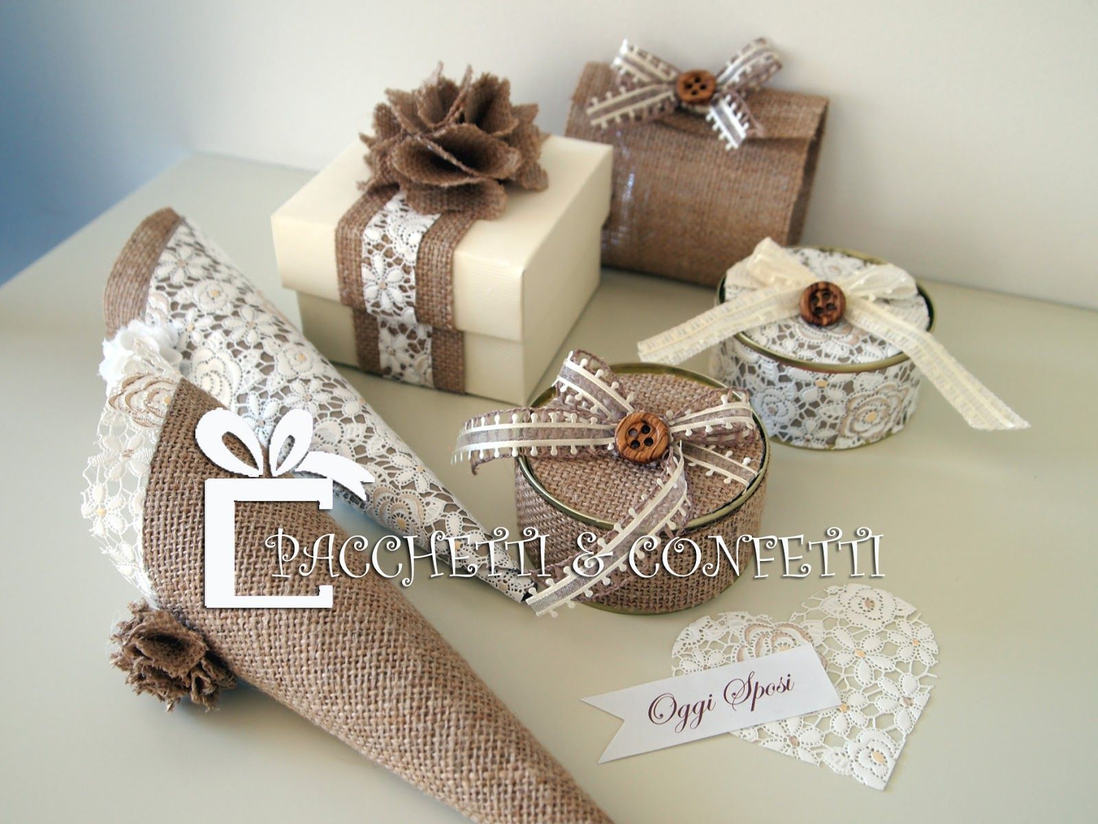 Pacchetti E Confetti Favors Pinterest Gifts Favors And