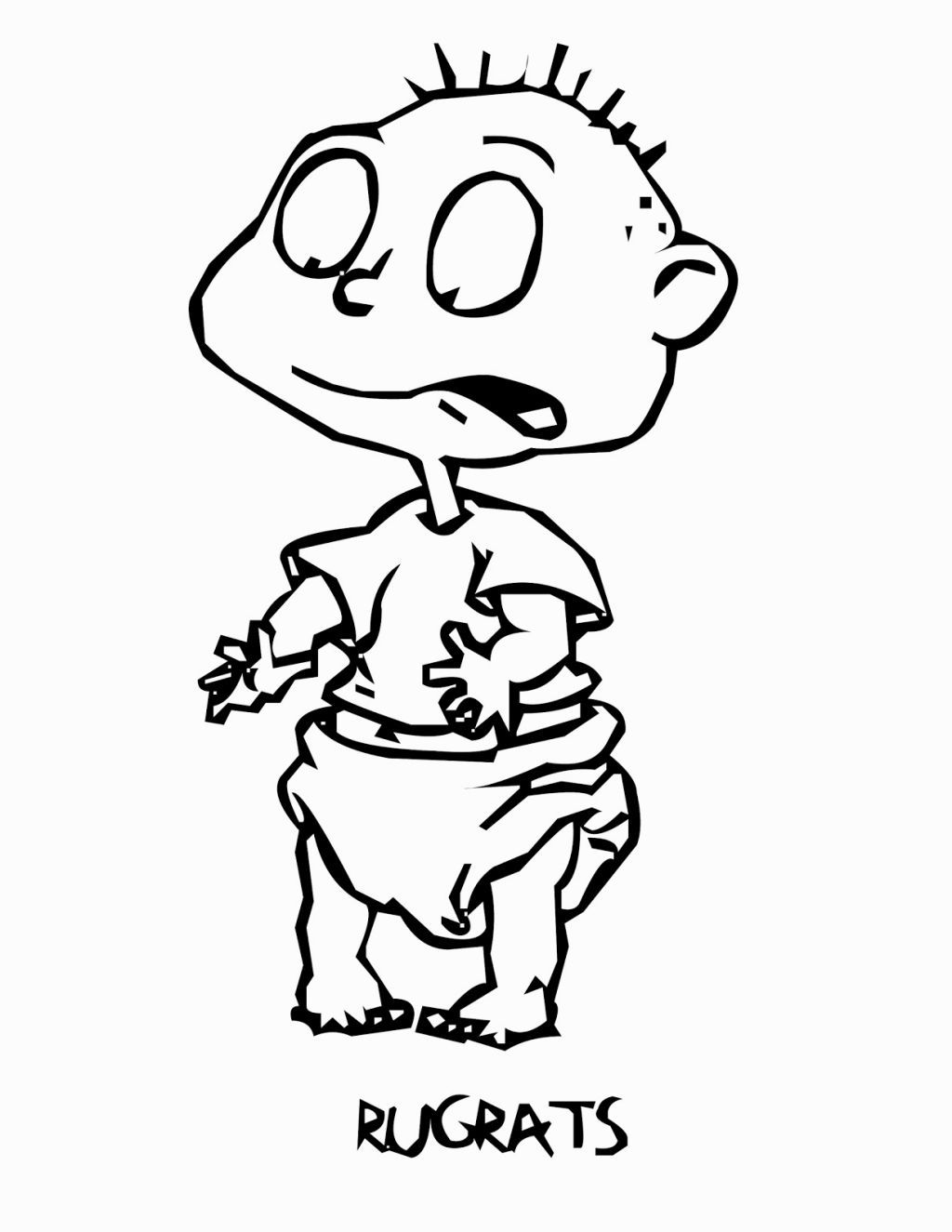 Rugrats Coloring Book   Coloring Pages   Pinterest   Rugrats and ...