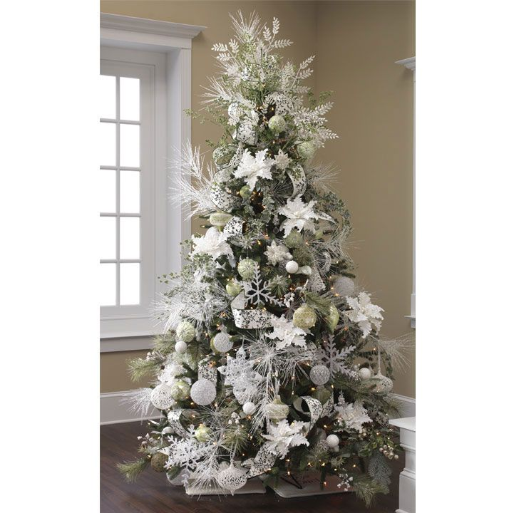 White Christmas Tree Decorations, White