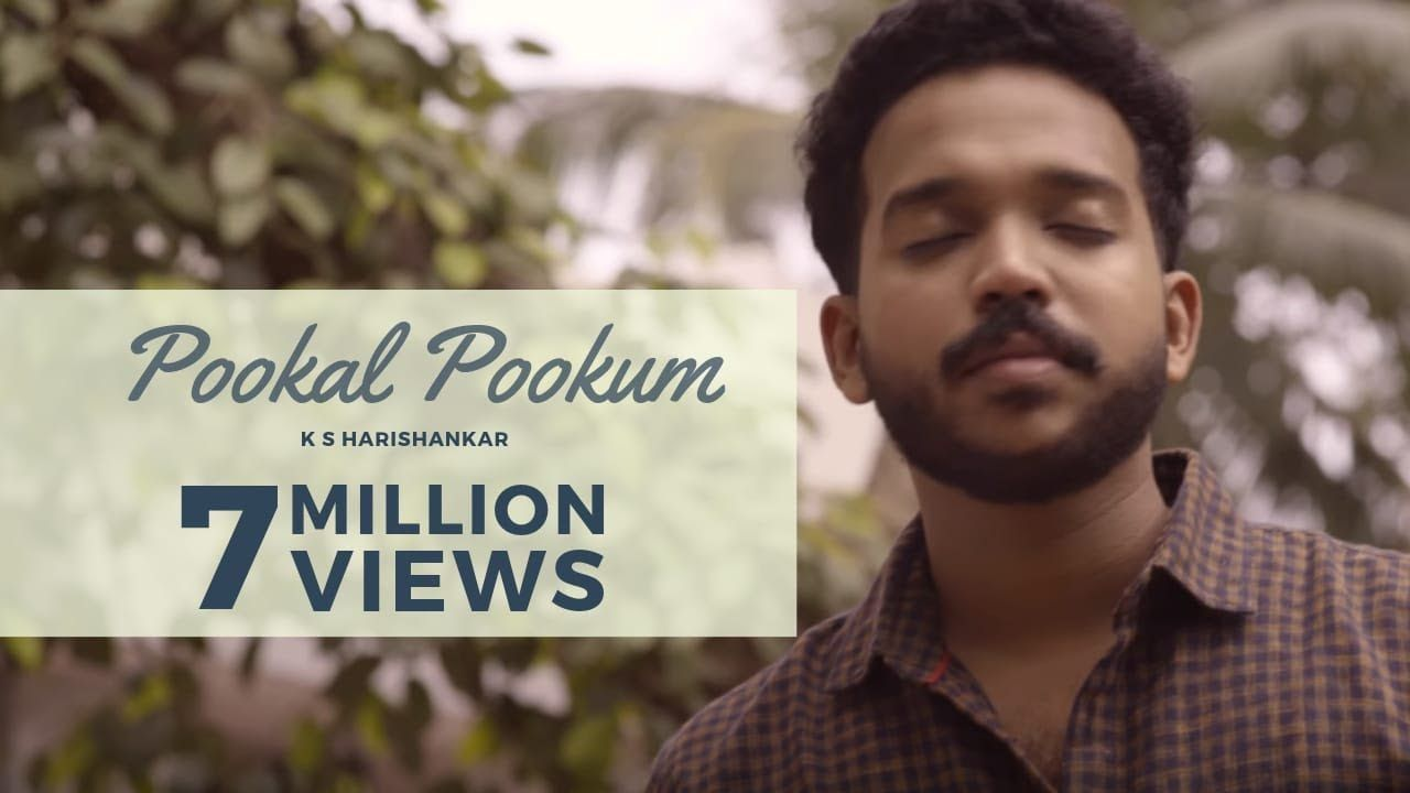 Pookal Pookum Madrasapattinam Cover Version 4k Ks Harisankar In 2020 Cover Songs Songs Mp3 Song Download