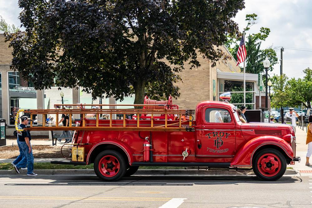 In Hot Pursuit Of Emergency Vehicles At Woodward In 2020 With Images Emergency Vehicles Vehicles Fire Trucks
