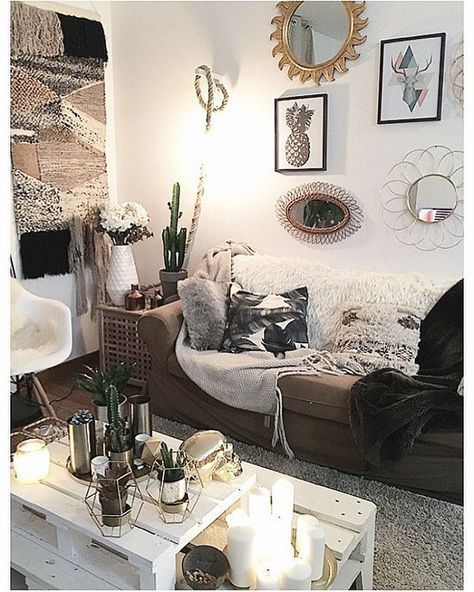 Instagram analytics prospects 2018 room decor living - Boho chic living room decorating ideas ...