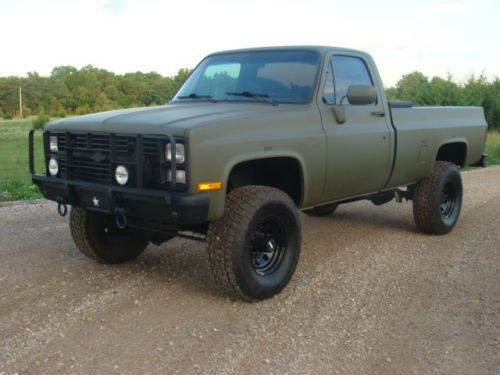 Chevy Military Trucks For Sale >> Purchase Used 1985 Chevrolet M1028 Cucv K30 Military Truck A