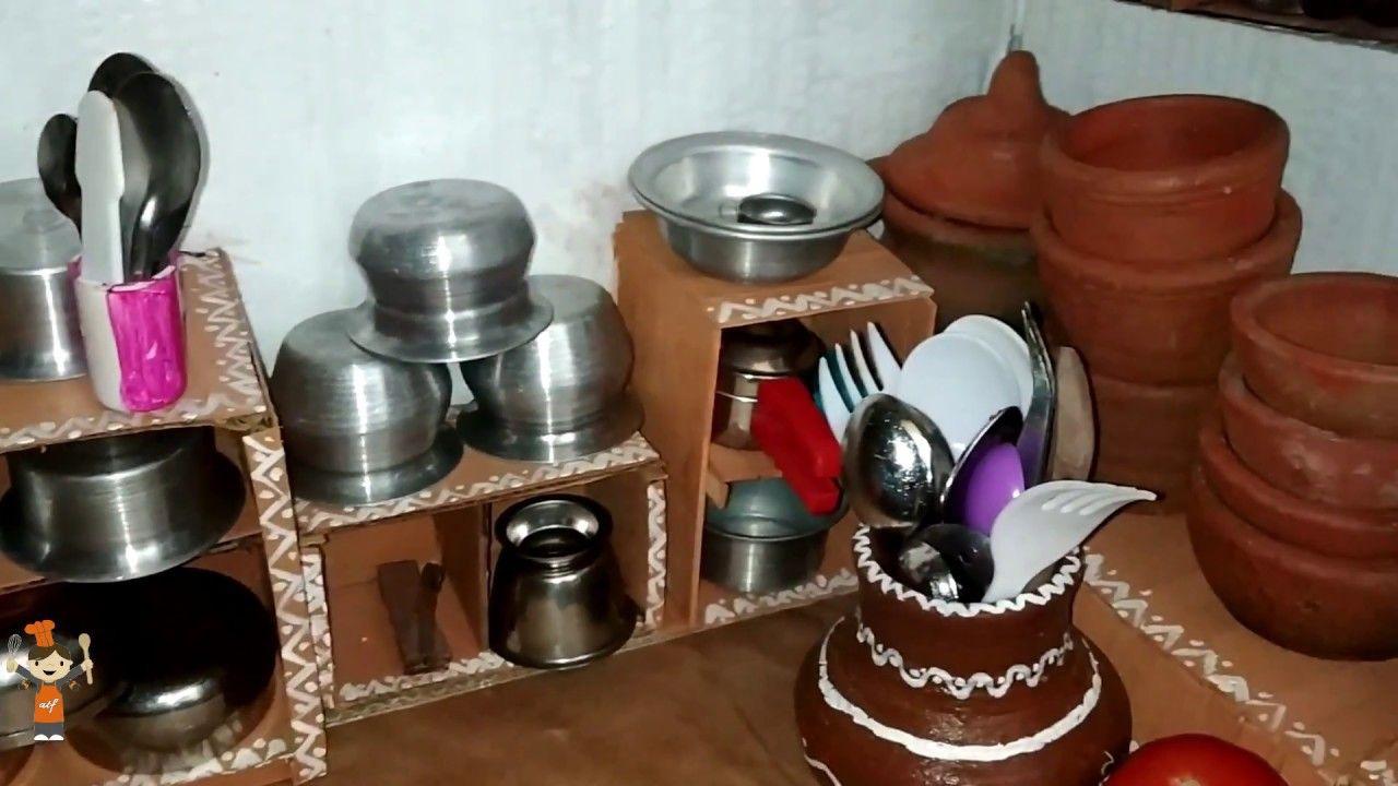 Tinyfoods Foods Recipe Indian Miniature Traditional Kitchen Set Ammu S Tiny Foods Ep03 Dollhouse Miniature Cooking Miniat Tiny Food Traditionelle Kuche Mini