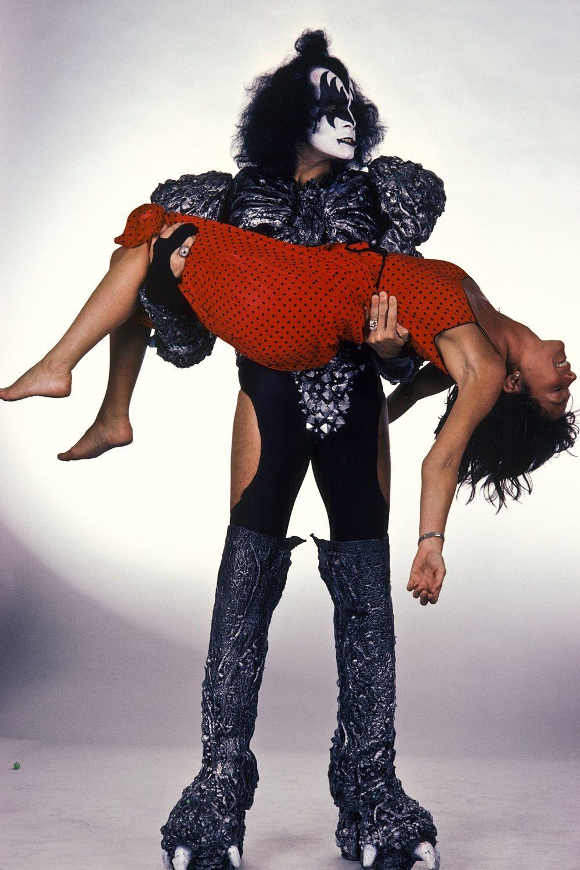 Gene Simmons & Lynn Goldsmith