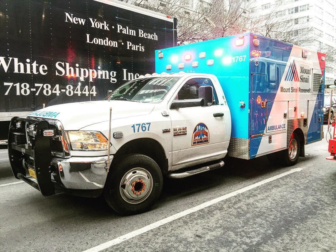 Mount Sinai Roosevelt Hospital Ems Ambulance At A 2nd