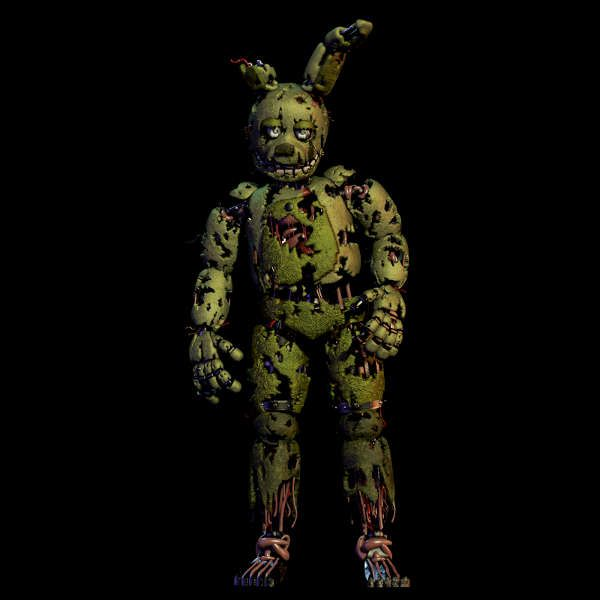 Papercraft Springtrap (Five Nights at Freddy's 3) | Projects