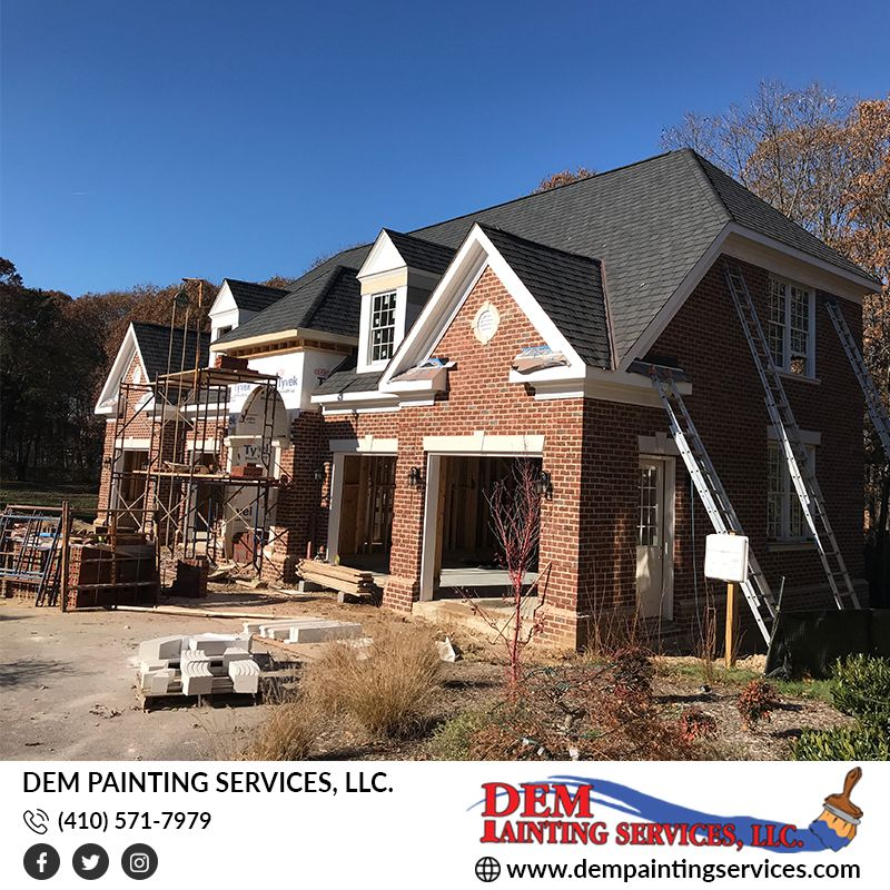 Residential Exterior Services: Interior Exterior New Home Project