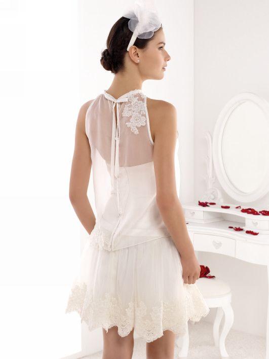 robe civile trouvé : Mlle Alicia - pronuptia | Feine Edle Stilvolle ...